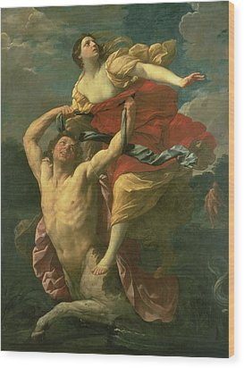 The Abduction Of Deianeira Wood Print