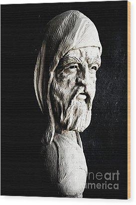 The Artist Wood Print by Wayne Niemi