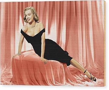 The Asphalt Jungle, Marilyn Monroe, 1950 Wood Print by Everett