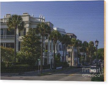 The Battery Charleston Sc Wood Print
