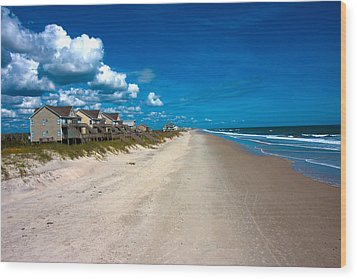 The Beach Is Yours Wood Print by Betsy Knapp