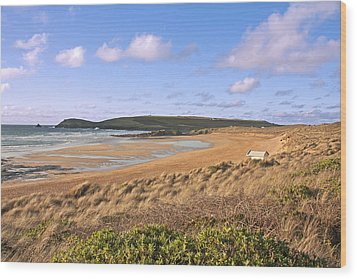 Wood Print featuring the photograph The Beach by Paul Scoullar