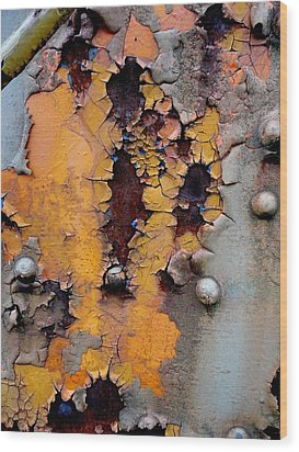 The Beauty Of Aging Wood Print by The Art With A Heart By Charlotte Phillips