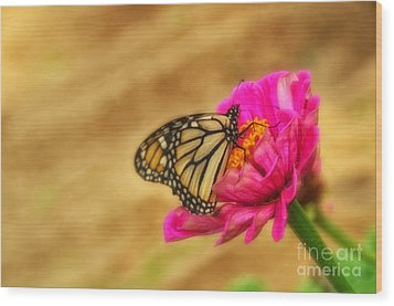 The Beauty Of Flowers Wood Print by Tamera James