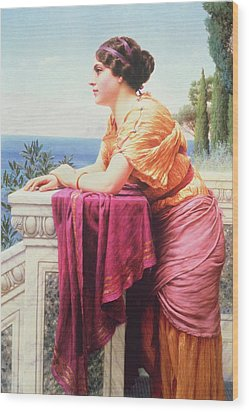The Belvedere Wood Print by John William Godward