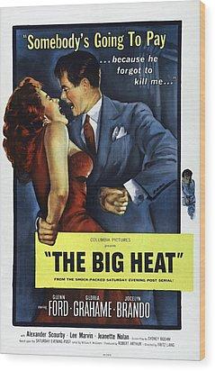 The Big Heat, Gloria Grahame, Glenn Wood Print by Everett