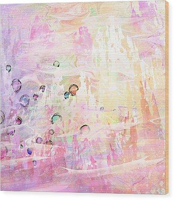 The Big Rock Candy Mountains Wood Print by Rachel Christine Nowicki