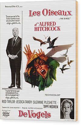 The Birds, Aka Alfred Hitchcocks The Wood Print by Everett