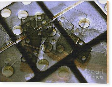 The Bone Pile Wood Print by Judi Bagwell
