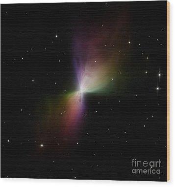 The Boomerang Nebula Wood Print by Stocktrek Images