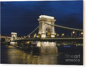 The Bridge Across Wood Print by Syed Aqueel