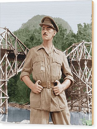 The Bridge On The River Kwai, Alec Wood Print by Everett