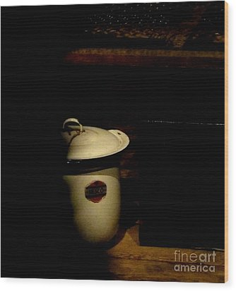 Wood Print featuring the photograph The Chamber Pot by Newel Hunter