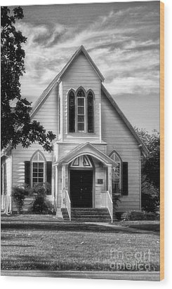 The Church Wood Print