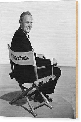 The Cobweb, Richard Widmark, 1955 Wood Print by Everett