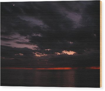 Wood Print featuring the photograph The Color Of Fear by Bill Lucas