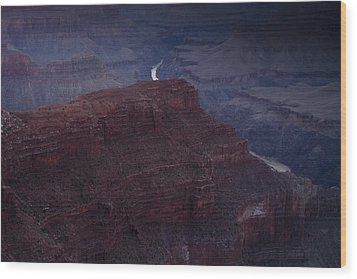 The Colorado River At Hopi Point Wood Print by Andrew Soundarajan