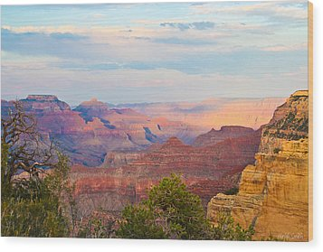 The Colors Of The Canyon Wood Print by Heidi Smith