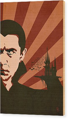 The Count Wood Print by Dave Drake