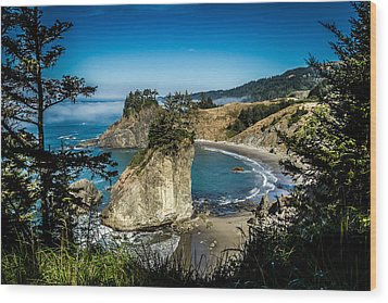 Wood Print featuring the photograph The Cove by Randy Wood