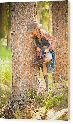 The Creek Wood Print by Nancy Taylor