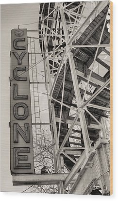 The Cyclone Wood Print by JC Findley