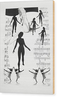 The Dance Wood Print by Kate Moore