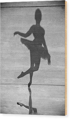 The Dancer Wood Print by Steven Gray