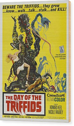 The Day Of The Triffids, 1963 Wood Print by Everett