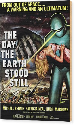 The Day The Earth Stood Still, 1951 Wood Print by Everett
