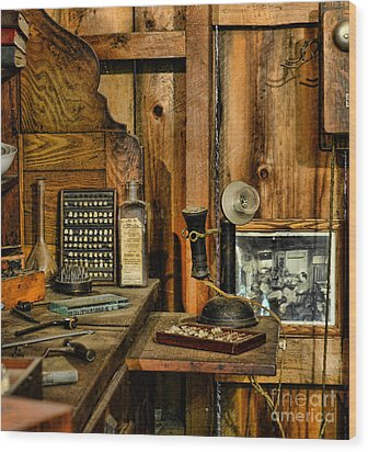 The Dentist Office Wood Print by Paul Ward