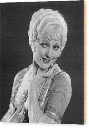 The Devils Brother, Thelma Todd, 1933 Wood Print by Everett