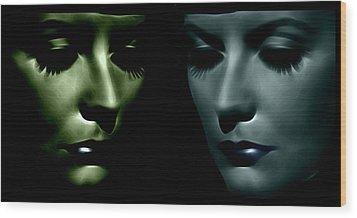 The Divine 2 Wood Print by Steve K