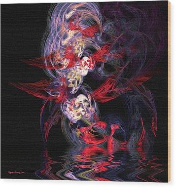The Dream Wood Print by Wayne Bonney