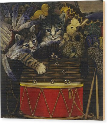 The Drum Wood Print by Steven Wood