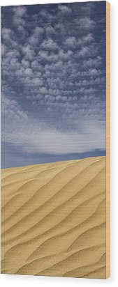 The Dunes 2 Wood Print by Mike McGlothlen