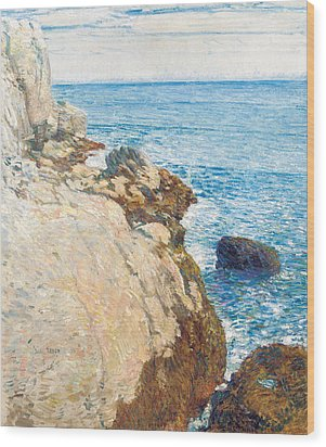 The East Headland Wood Print by Childe Hassam