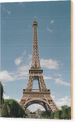 The Eiffel Tower, Paris Wood Print by Martin Diebel