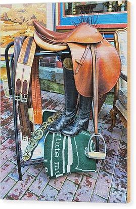 The English Saddle Wood Print by Paul Ward