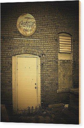 The Entrance Wood Print