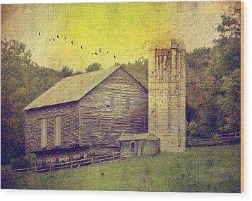 The Establishment Wood Print by Kathy Jennings