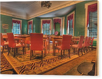 The First American Congress Senate Chamber - Independence Hall - Congress Hall -  Wood Print by Lee Dos Santos