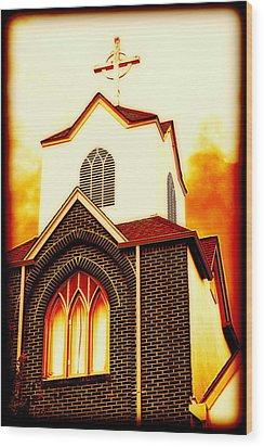 The Forgiven  Wood Print