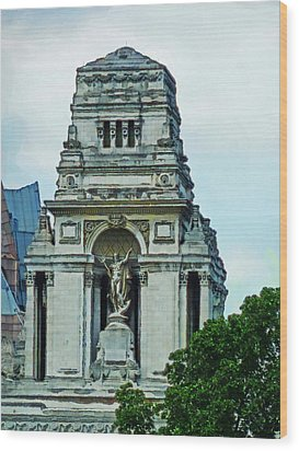 The Former Port Of London Authority Building Wood Print by Steve Taylor