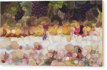 The Fruit Wood Print by Odon Czintos