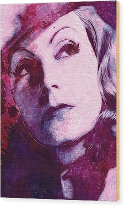 The Garbo Pastel Wood Print by Steve K