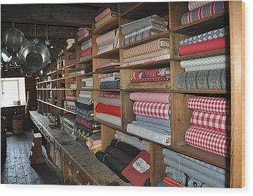 The General Store Wood Print by Daryl Macintyre
