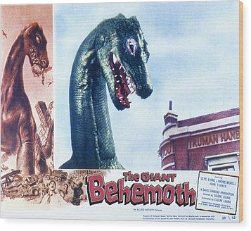 The Giant Behemoth, 1959 Wood Print by Everett