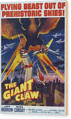 The Giant Claw, Poster, 1957 Wood Print by Everett