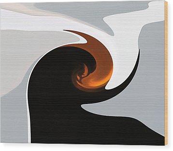 The Gift Of Light Wood Print by James Mancini Heath